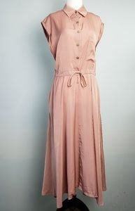 Dresses & Skirts - Retro Inspired Pink A Line Dress